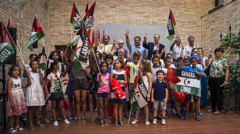 """Compromiso con el Pueblo Saharaui y recibe a los niños que pasarán sus """"Vacaciones en paz"""" en Toledo 5"""