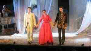 Silvia Marsó recibe el V Premio Patio de Comedias en la apertura del VII Festival Internacional de Teatro y Títeres 9