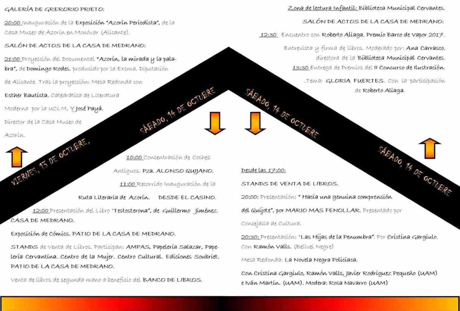 """Jornadas """"Cincuenta aniversario de la muerte de Azorín"""" este fin de semana en Argamasilla de Alba 2"""