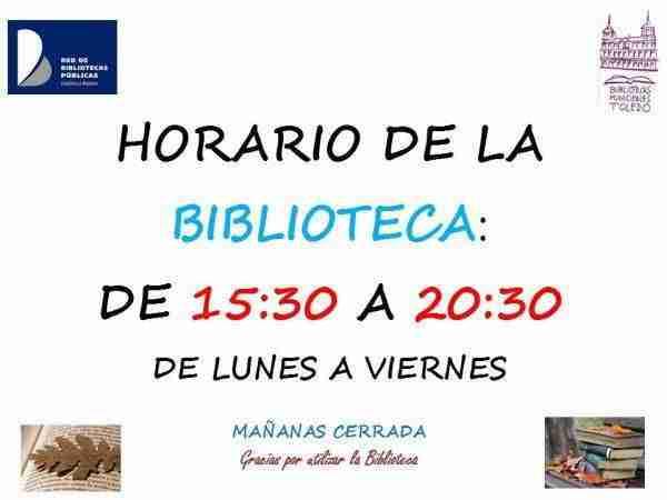 Horario de la biblioteca en Toledo 3