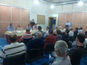"""Presentación de candidatura de """"Unión de Comunidades y Regantes"""" en Herencia 7"""
