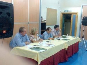 """Presentación de candidatura de """"Unión de Comunidades y Regantes"""" en Herencia 3"""