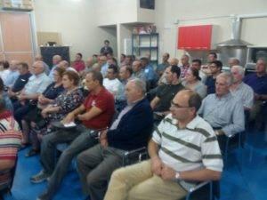 """Presentación de candidatura de """"Unión de Comunidades y Regantes"""" en Herencia 6"""