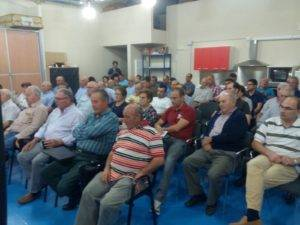 """Presentación de candidatura de """"Unión de Comunidades y Regantes"""" en Herencia 5"""