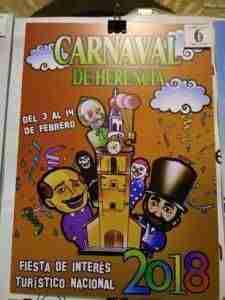 El Carnaval de Herencia 2018 elegirá su cartel el 24 de noviembre 3