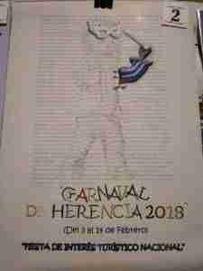El Carnaval de Herencia 2018 elegirá su cartel el 24 de noviembre 15