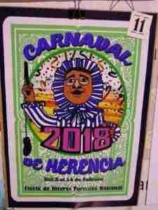 El Carnaval de Herencia 2018 elegirá su cartel el 24 de noviembre 2