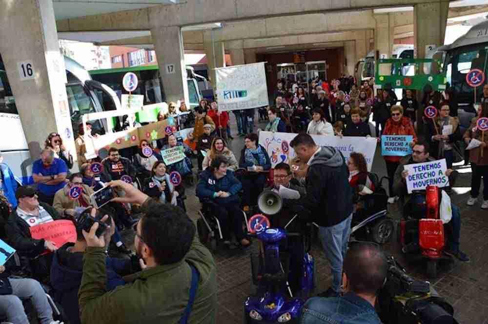 Las personas con discapacidad de Ciudad Real reivindican el derecho a la accesibilidad 5