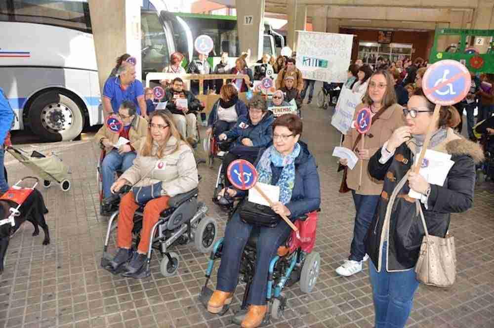 Las personas con discapacidad de Ciudad Real reivindican el derecho a la accesibilidad 6
