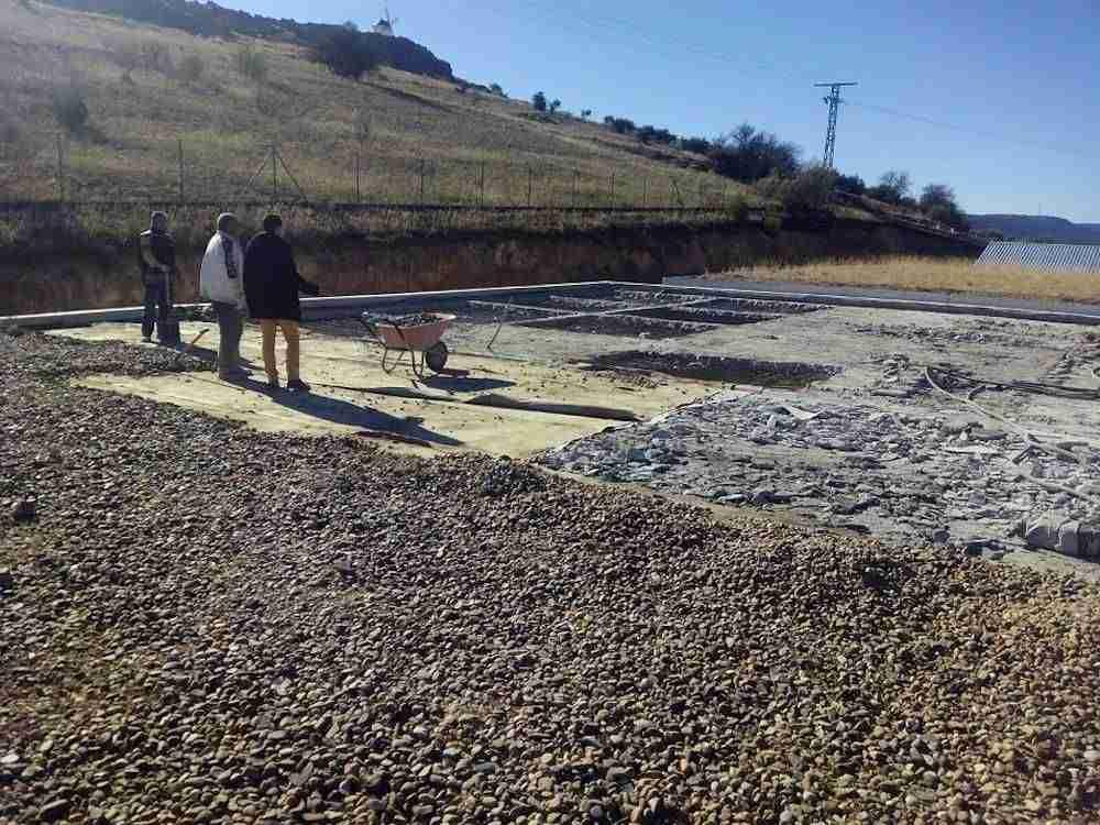 Obras urgentes en depósitos de agua potable de Herencia (Ciudad Real)