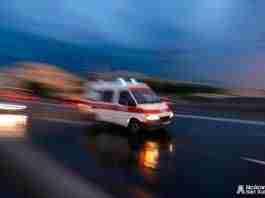 ambulancia en movimiento