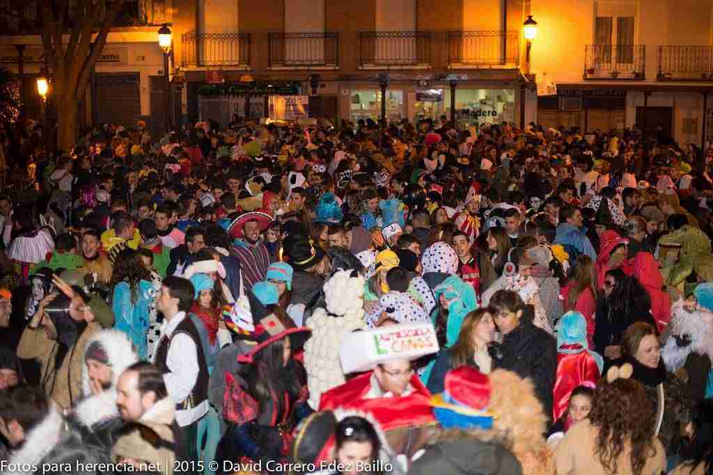 Carnaval de Herencia 2018 de interés nacional comienza con el Sábado de los Ansiosos 3