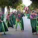 Siete comparsas en el desfile del Carnaval 2018 de Argamasilla de Alba 2