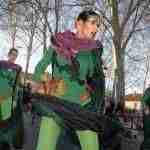 Siete comparsas en el desfile del Carnaval 2018 de Argamasilla de Alba 4