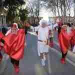 Siete comparsas en el desfile del Carnaval 2018 de Argamasilla de Alba 17
