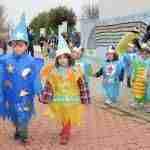 Los niños y niñas de la E.I. Alba realizan su tradicional desfile de Carnaval 1