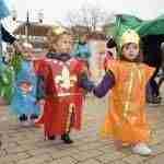 Los niños y niñas de la E.I. Alba realizan su tradicional desfile de Carnaval 5