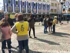 Fotogalería de Mensajes de solidaridad en Valdepeñas para el año nuevo chino 4