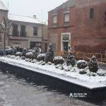 Nieve en las calles de Alcázar de San Juan 5