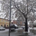 Nieve en las calles de Alcázar de San Juan 8