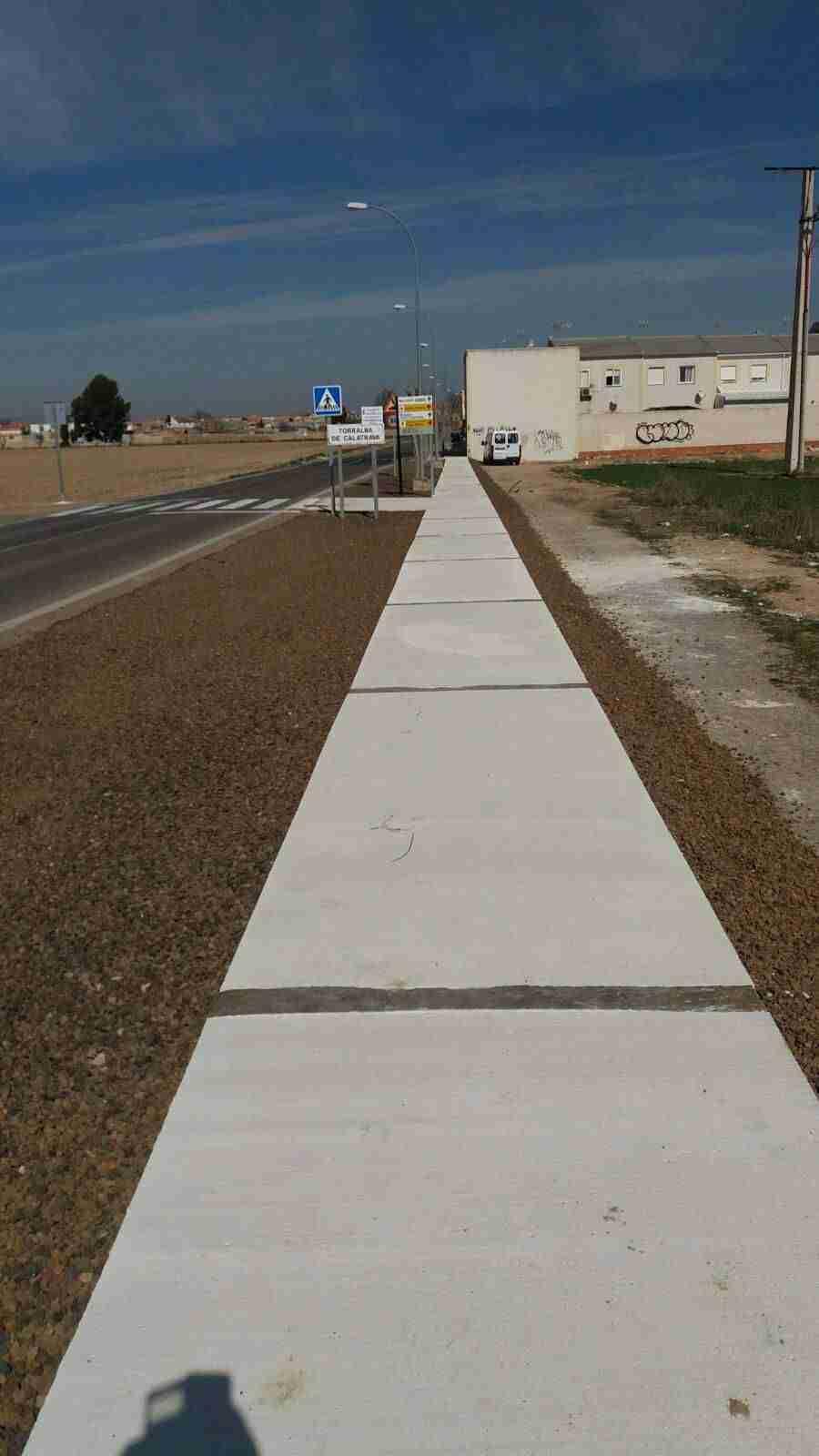 Finalizado el arreglo de la entrada a Torralba desde Pozuelo 3