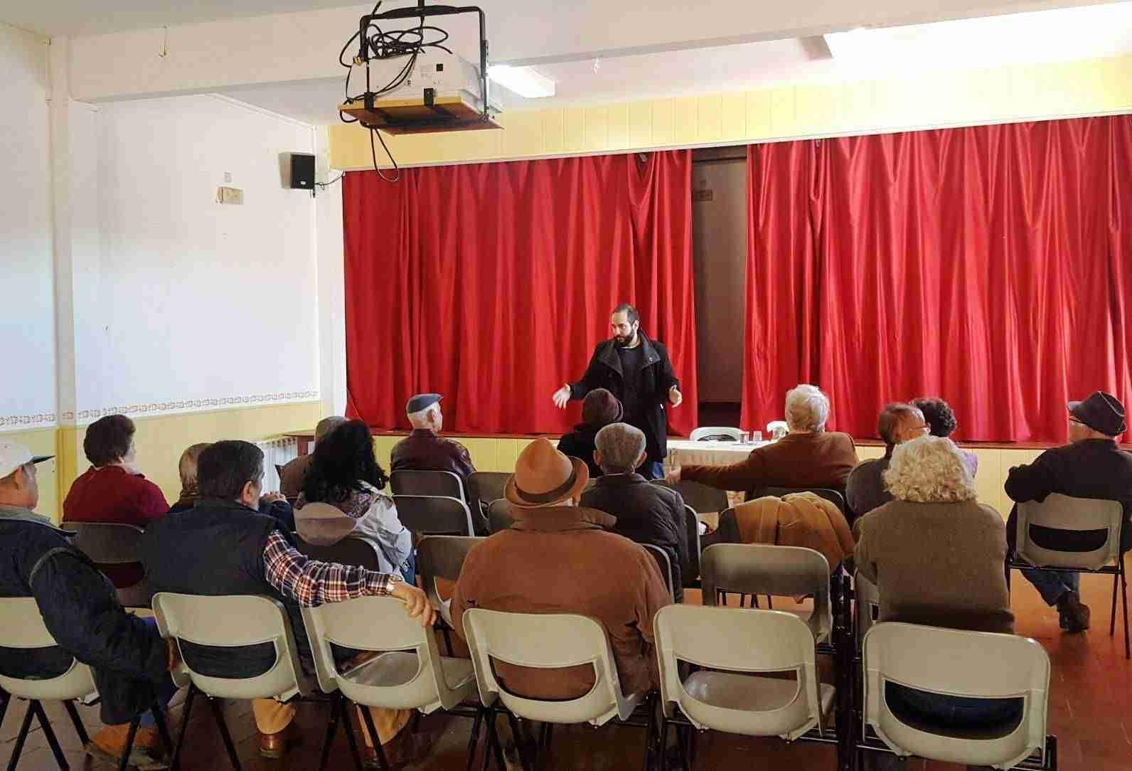 Asambleas de pensiones en Fontanarejo y Villahermosa 1
