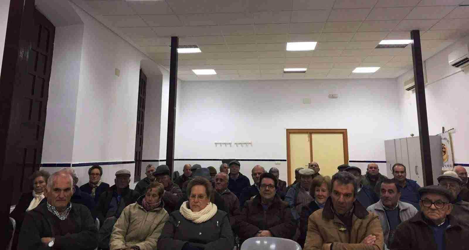 Asambleas de pensiones en Fontanarejo y Villahermosa 2