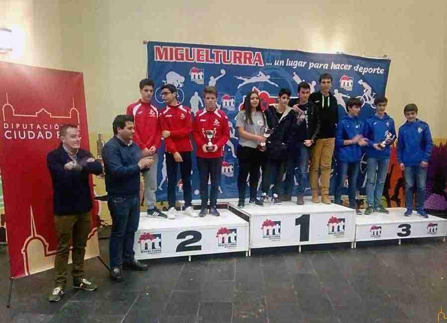 David Triguero asiste en Miguelturra al Campeonato Provincial de Ajedrez 2