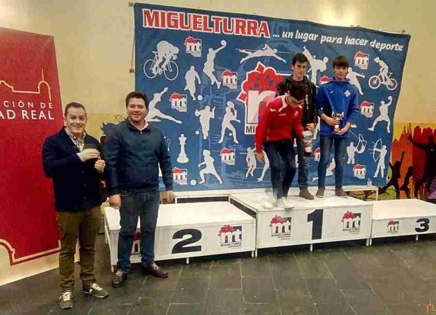 David Triguero asiste en Miguelturra al Campeonato Provincial de Ajedrez 1