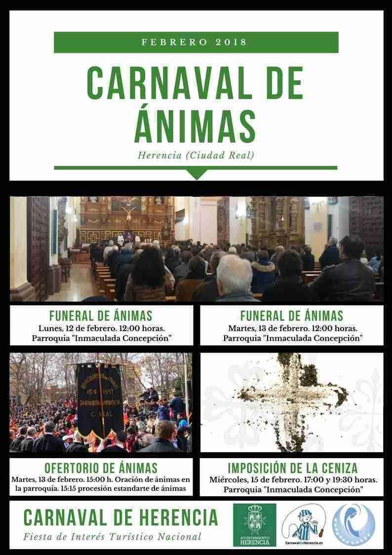 Herencia se prepara para celebrar los cultos a las Ánimas, que se enmarcan dentro de la celebración de su Carnaval 3