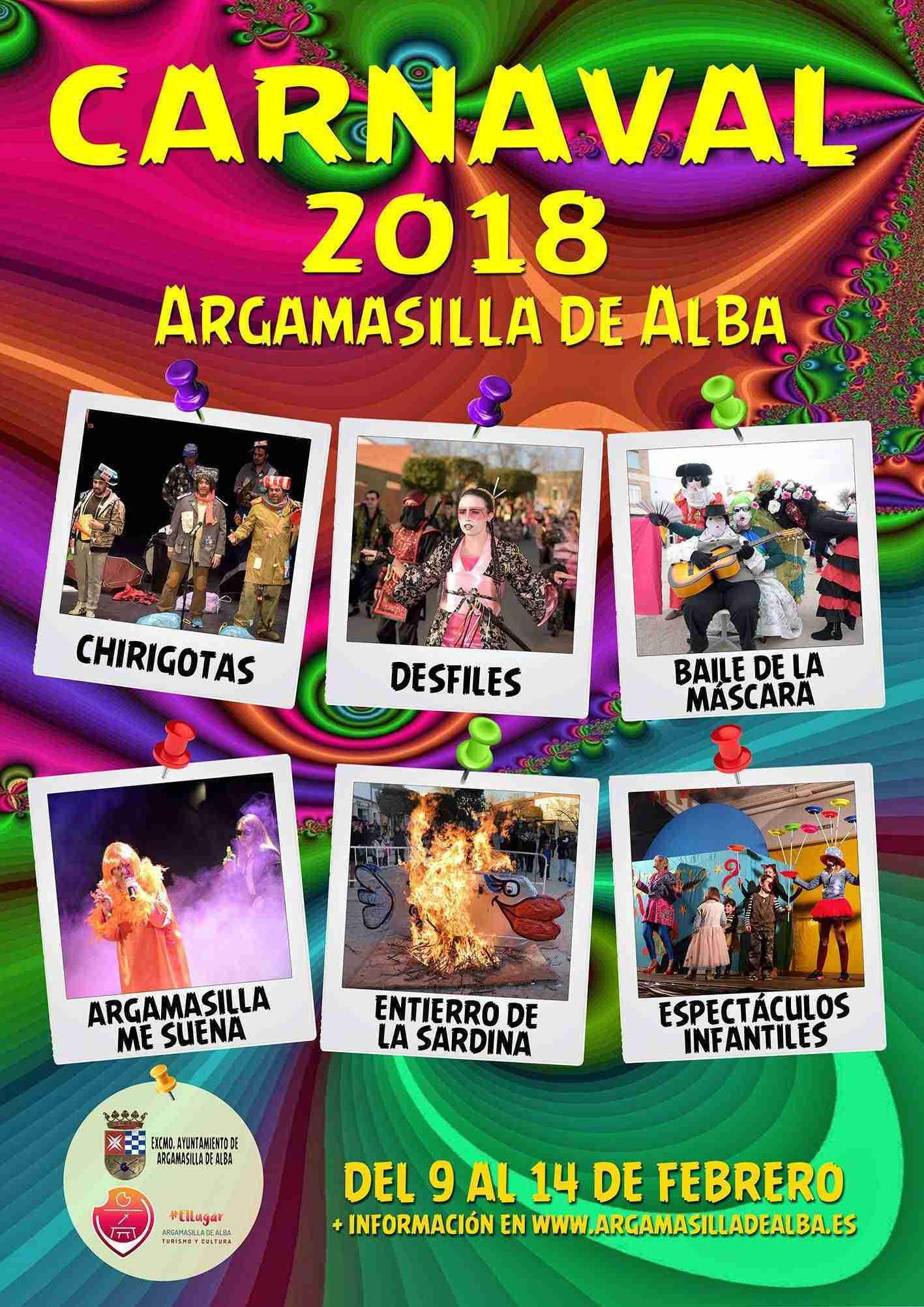 Programación Carnaval 2018 de Argamasilla de Alba 11