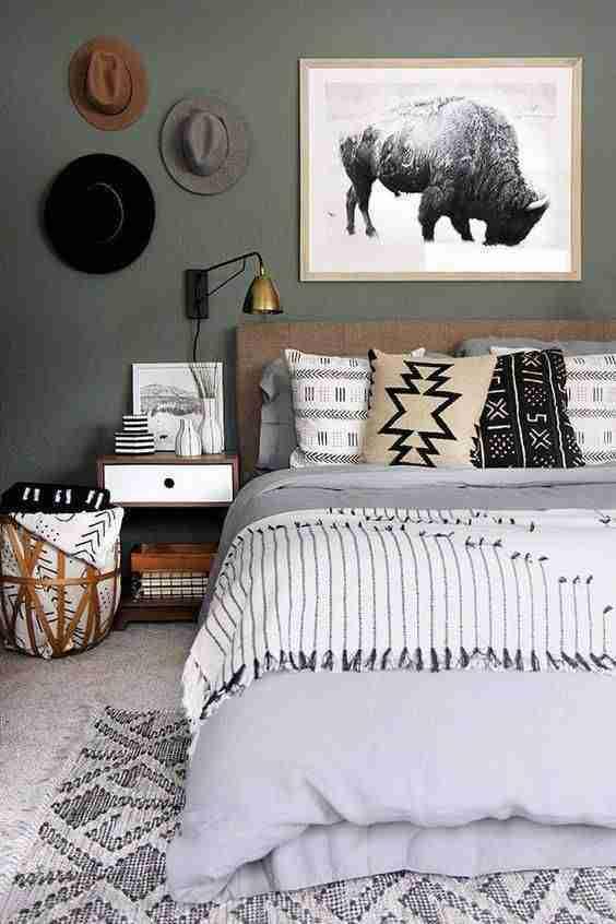 alfombra en el dormitorio V