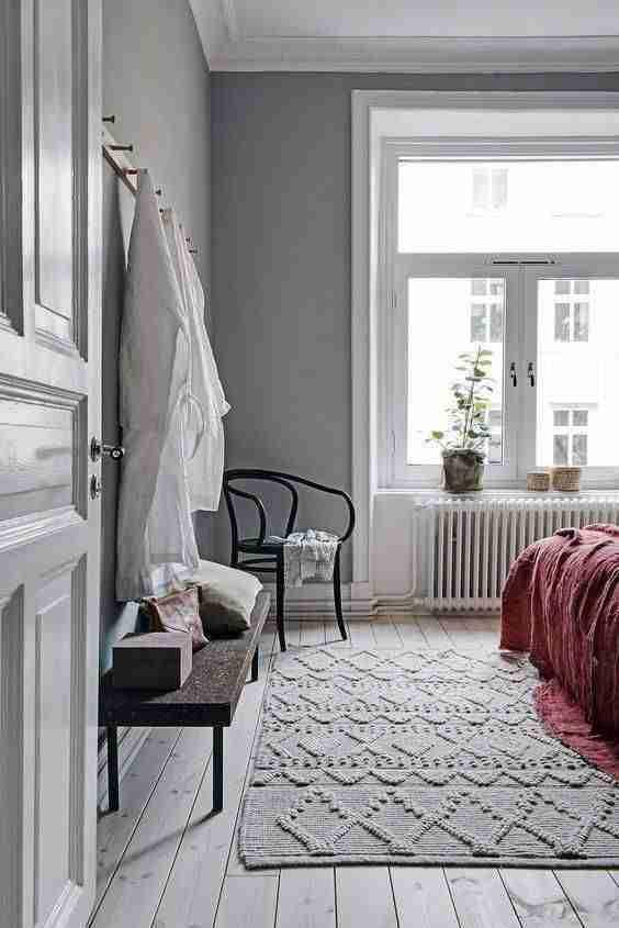 alfombra en el dormitorio VII