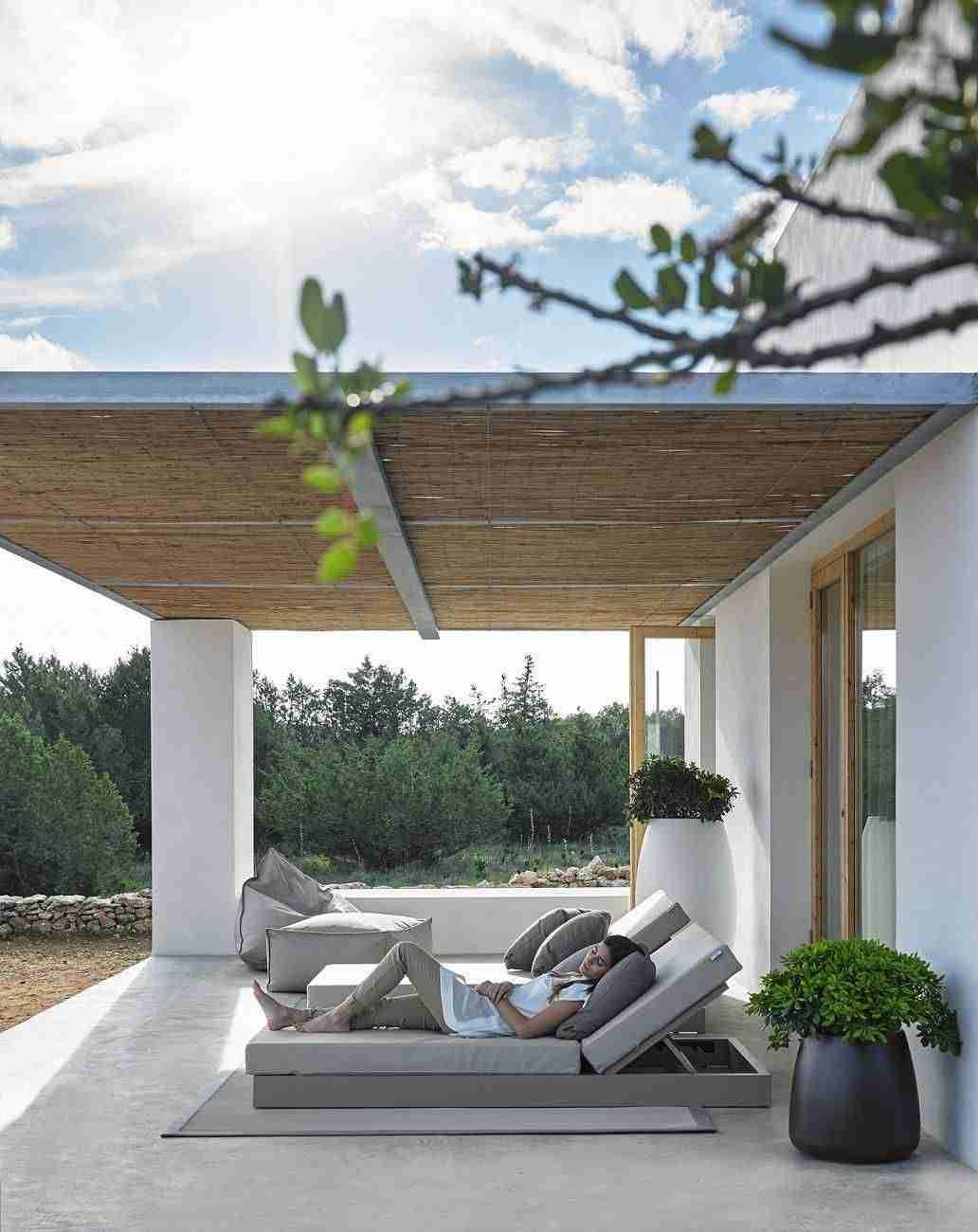 Cama de diseño Chill para un descanso a la Mediterránea 9
