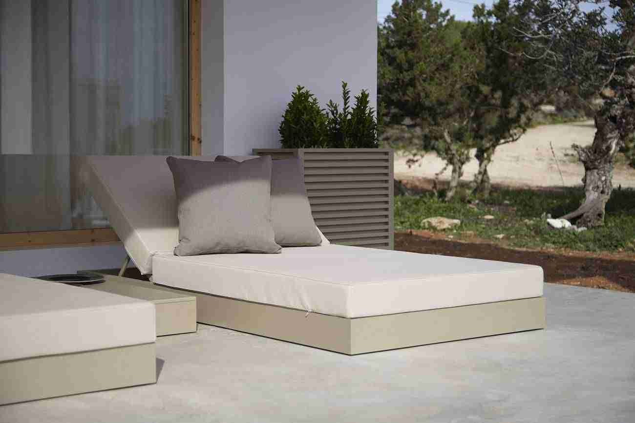 Cama de diseño Chill para un descanso a la Mediterránea 11