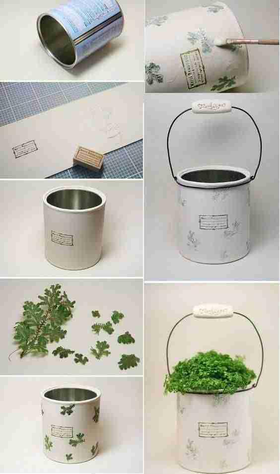 decorar con latas II