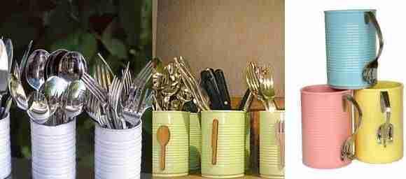 decorar con latas IV