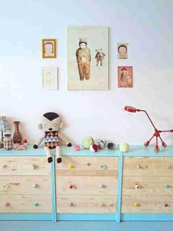 10 formas de pintar la cómoda Rast de Ikea para volver a estrenarla 3