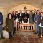 Federico Mayor Zaragoza visita el IES Vicente Cano de Argamasilla de Alba 2