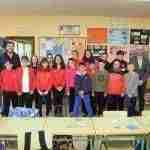Jiménez felicita personalmente a 6º curso del CEIP Ntra. Sra. de Peñarroya por su intervención en las Cortes regionales 1