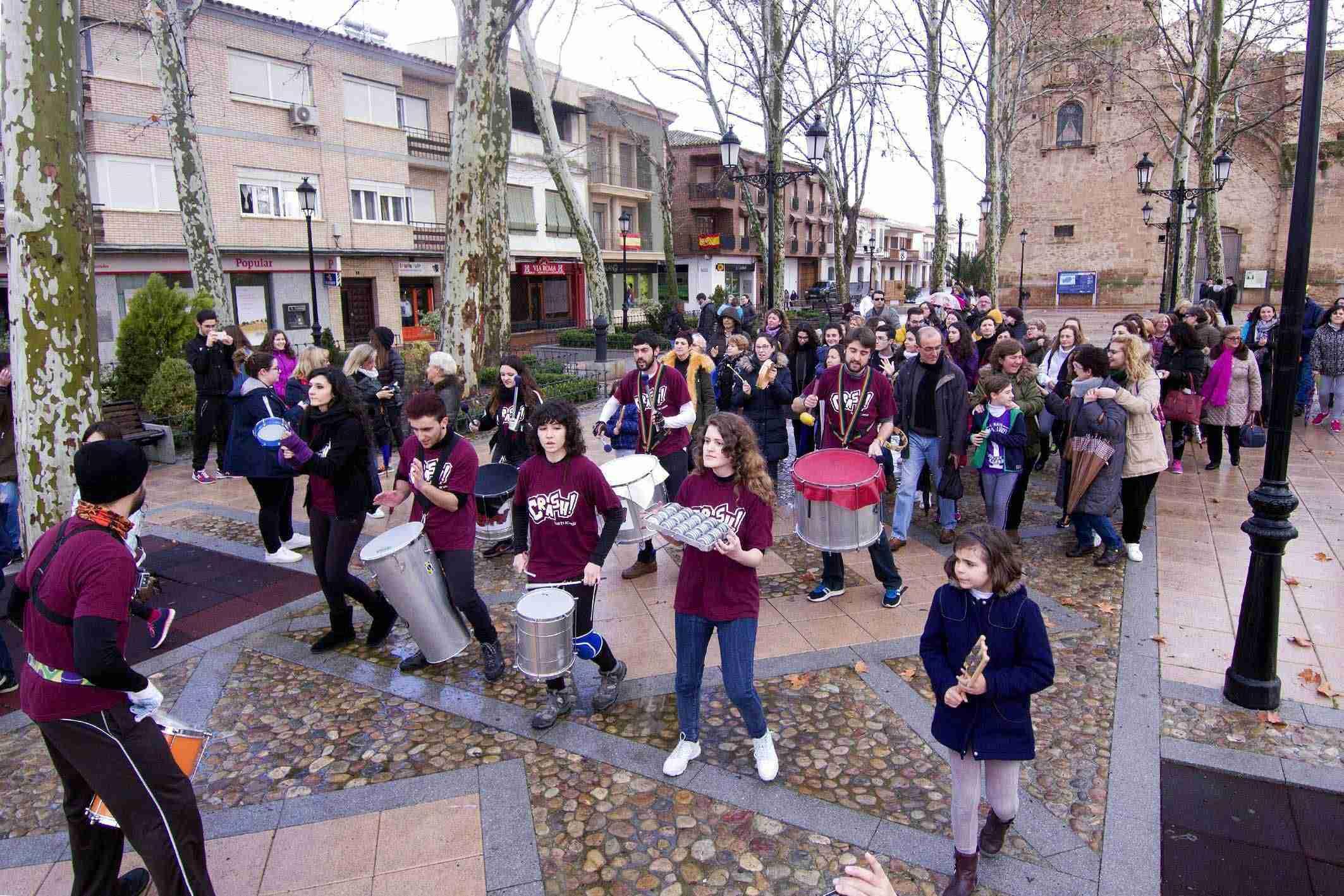 Argamasilla de Alba conmemora el 8M con una concentración por la igualdad 5