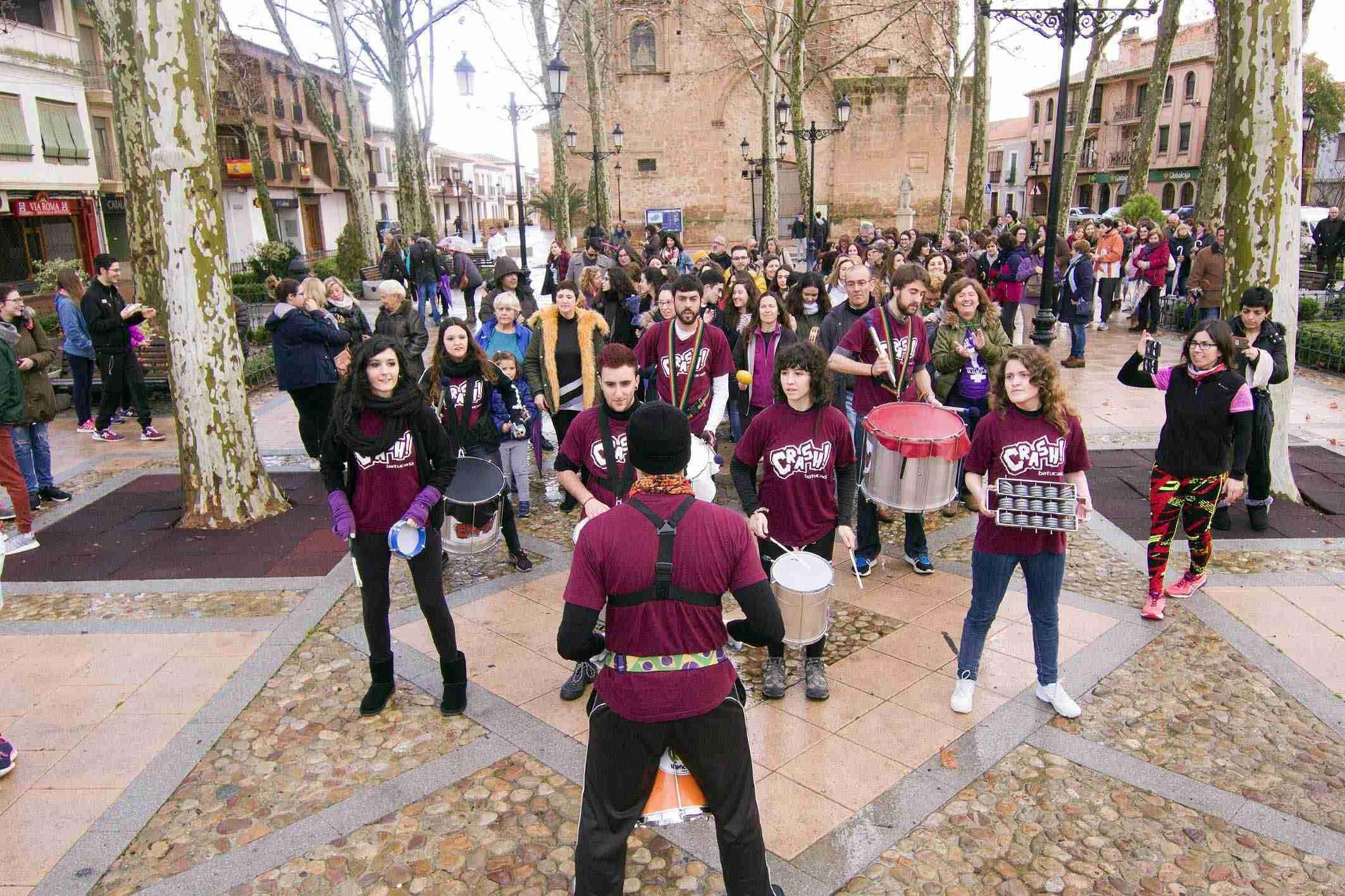 Argamasilla de Alba conmemora el 8M con una concentración por la igualdad 6
