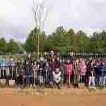 Día Forestal Mundial plantando árboles en la vía verde en Argamasilla de Alba 1