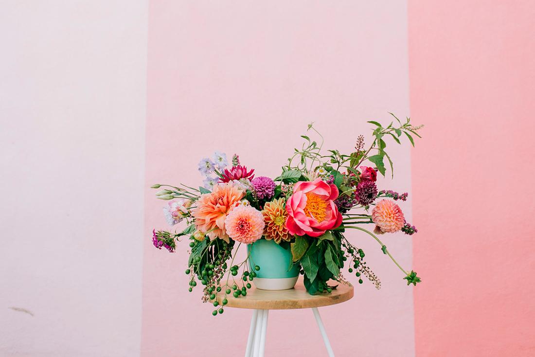 decorar con flores III