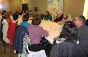 La Unión Democrática de Pensionistas (UDP)  celebró su asamblea anual en Alcázar 3