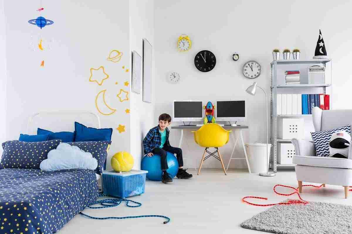 Ideas baratas para la decoracin de un dormitorio para nios