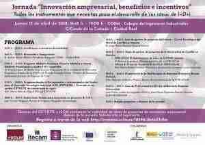 """Jornada """"Innovación Empresarial, beneficios e incentivos"""" en el Colegio de Ingenieros Industriales 3"""