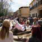 Los argamasilleros despiden la Semana de Pasión con el manteo del pelele 4