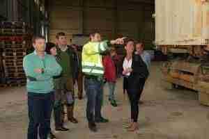 La Corporación de Comsermancha visita la planta de RSU en Alcázar de San Juan 3