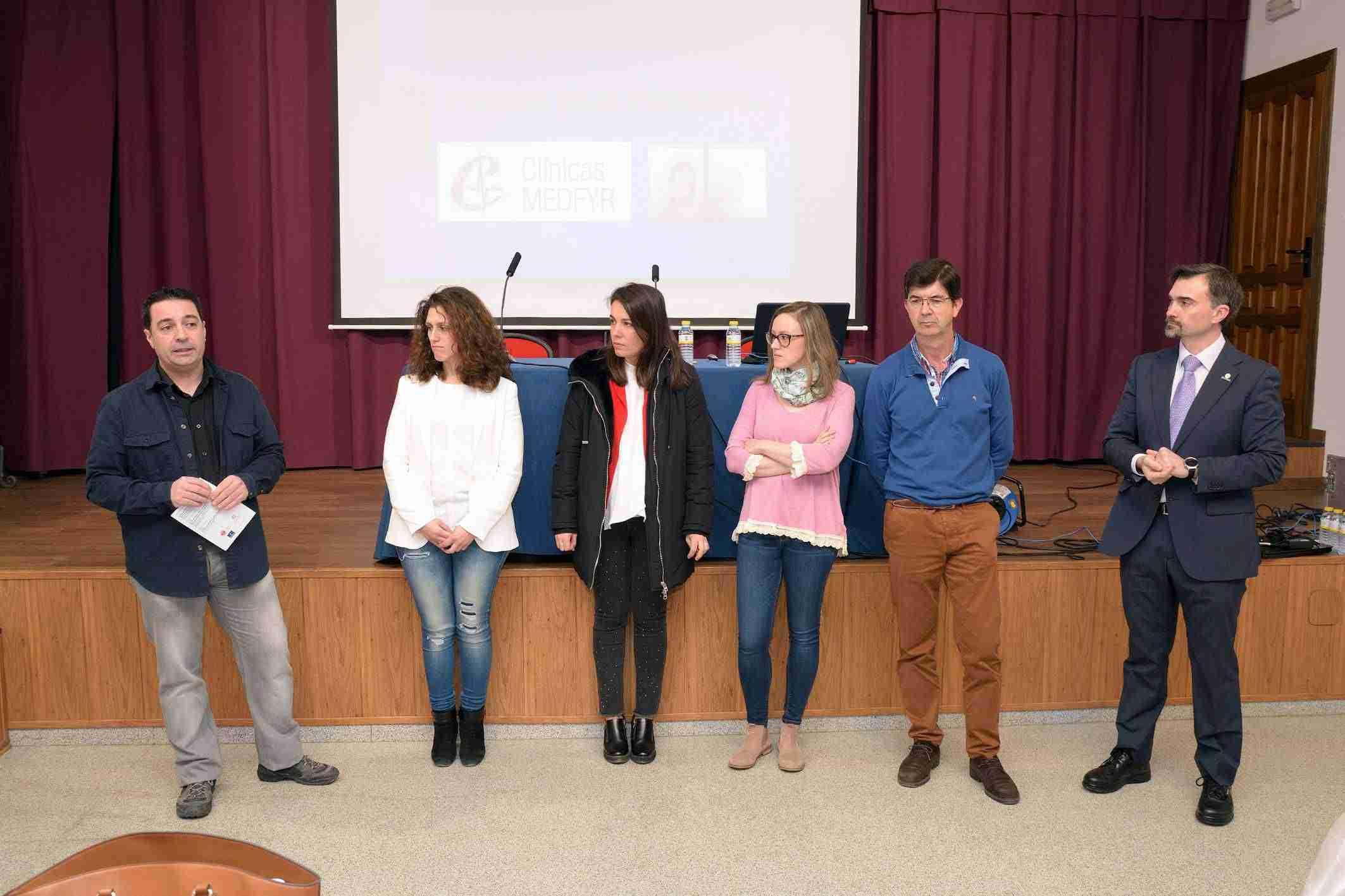 Cinco especialistas participan en la Jornada de Nutrición y Suplementación Deportiva de Argamasilla de Alba 3
